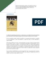 Comentario y presentación del Libro