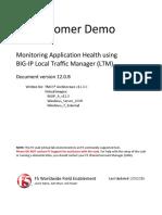 VLab Demo - Monitoring Application Health With LTM - V12.0.B