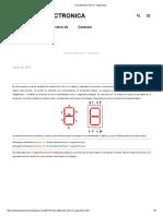 Decodificador Bcd a 7 Segmentos