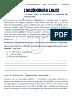 FICHA de CCSS 01 - 4to - Liberalismo