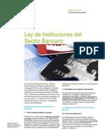 Ley de Instituciones del Sector Bancario Venezuela
