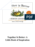 [2016] Together Is Better by Simon Sinek | A Little Book of Inspiration | Portfolio