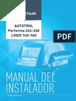 Manual Autotrol Performa 263-268 Logix740-760 Es