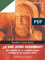 A qué Jesús_ Del esplendor de su verdadera imagen al peligro de las imágenes falsas - Teófilo CABESTRERO.pdf