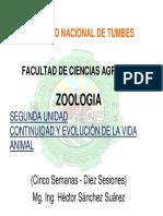 2 Zoologia Segunda Unidad Continuidad y Evolucion de La Vida