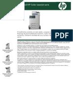 Impresora multifuncional HP Color LaserJet serie CM4730
