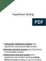 zikmund Testing of Hypotheses %%%%%%%