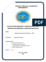 Derecho Previsional Snp Monografia