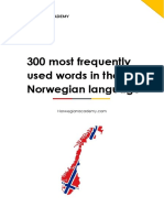 Norwegian Vocabulary