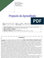 Proyecto Tercer grado