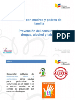 Prevencion de drogas