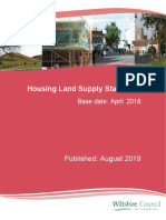 Spp Housing Land Supply Statement 2018 Published