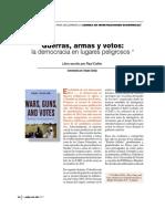 Guerras, Armas y Votos
