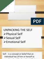 Unpacking the Self