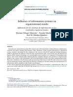 Influencia de Los Sistemas de Informaci n en Los Resultados Organizacionales