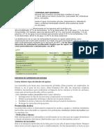 Componentes de Las Espumas Anti Incendios y Clasificacion de Riesgos