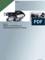 Audi Motor 1.4l TFSI Con Sobrealimentacion Doble