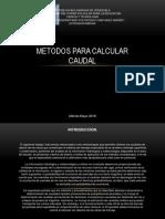 metodosparacalcularcauda