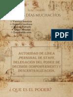Autoridad de Linea Personal de Staff