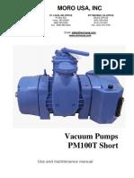 Pm100t Short Manual