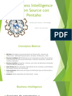 Business Intelligence Open Source Con Pentaho-On