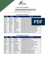 Lista Seleccionados Ceu2020