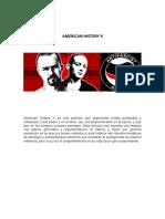 Amaerican History x