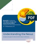Hoff (2011) - Understanding the Nexus.pdf