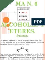 TEMA N 6 ETERES Y ALCOHOLES.pptx