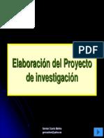 Elaboración Del Proyecto de Investigación