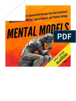 [2019] Mental Models by Peter Hollins | 30 Thinking Tools that Separate the Average from the Exceptional | Ps