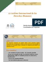 HERNANDO M Sistema Internacional de Derechos Humanos