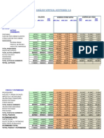 Analisis Vertical Balance