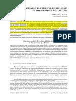 Mauri, M Las Pasiones y El Principio de Reflexion en Elos Sermones de J Butler, Revisado