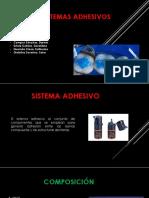 Sistema Adhesivo 1 Parte