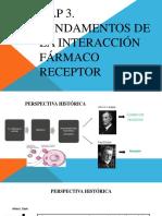 CAP. 3 Fundamentos de la interacción fármaco-receptor