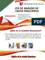 Métodos de Análisis de Los Estados Finacieros