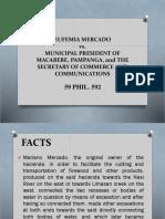 Mercado vs Mun Macabebe