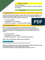 Act Lng Les. moyens Lexicaux de La Description
