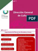 Presentación Del Plan de Masificación e Inclusión de Las Artes y Las Culturas Por La Paz - Copia