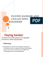 Paying Banker and Collecting Banker