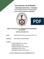 CASO N°6-ANALISIS DE LA COMPENSACIÓN EN INGENIEROS DEL DARIÉN