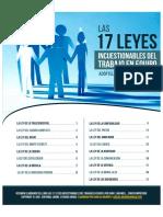 17 leyes Incae