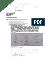 Análisis externo e interno Plan estratégico tecnológico 2