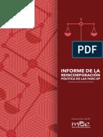 Informe de Reincorporación Política de Las FARC Digital