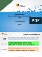 AM Avance de las Unidades Educativas Siglo XXI EDUCACION.pptx