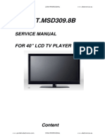service manual T.MSD309