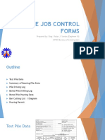 Bridge Job Control Forms
