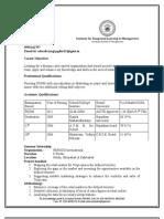 Adarsh Resume