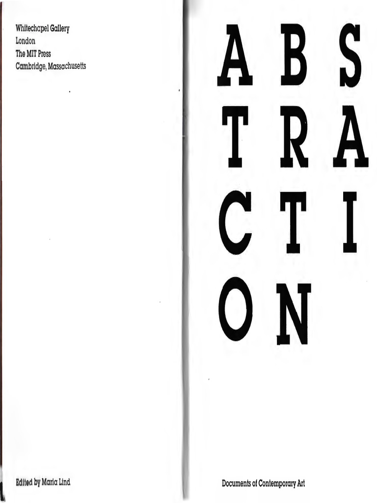 Abstraction documents of Contemporary Art   Abstract Art   Modern Art